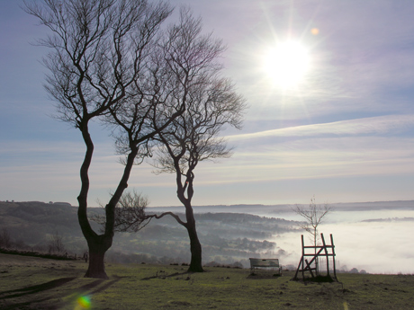cleeve hill - threesisters