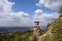 leckhampton hill - devils chimney
